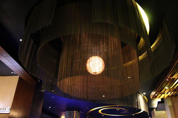Lámpara / Lamp at the #Casino ;) Hard Rock Hotel & Casino Punta Cana
