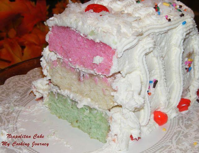 Neapolitan cake (Baking Partner's) let's Celebrate - Christmas ...
