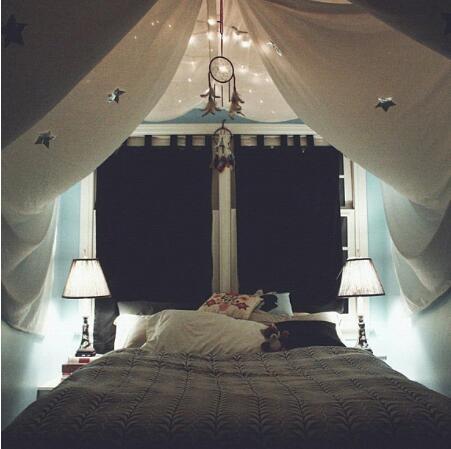 fort bedroom indoor tent home is where the heart is