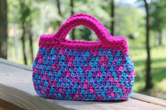 Crochet Bag For Little Girl : crochet purses