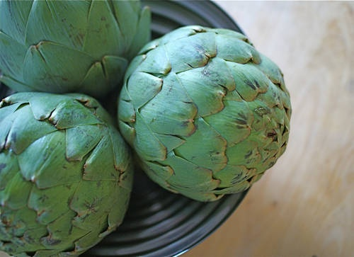 How to trim artichokes, you will need a spoon to clean the interior ...