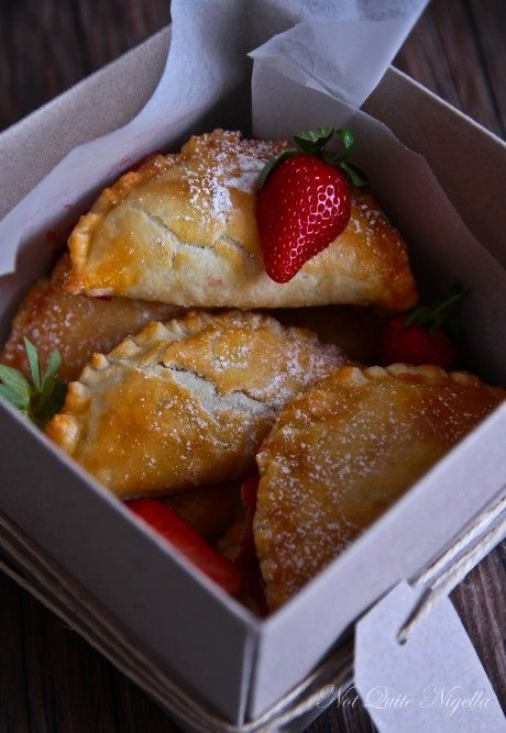 ... hand pie recipes... These strawberry hand pies just might do the trick