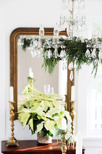 A Country Farmhouse Christmas decor Christmas Ideas