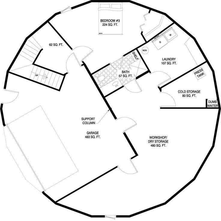 Deltec Homes- Floorplan Gallery | Round Floorplans | Custom Floorplans ...