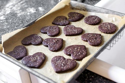 intensely chocolate sables (cookies) recipe