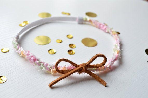 Pistachio Bon Bon Headband- Toddler, Baby, Bohemian
