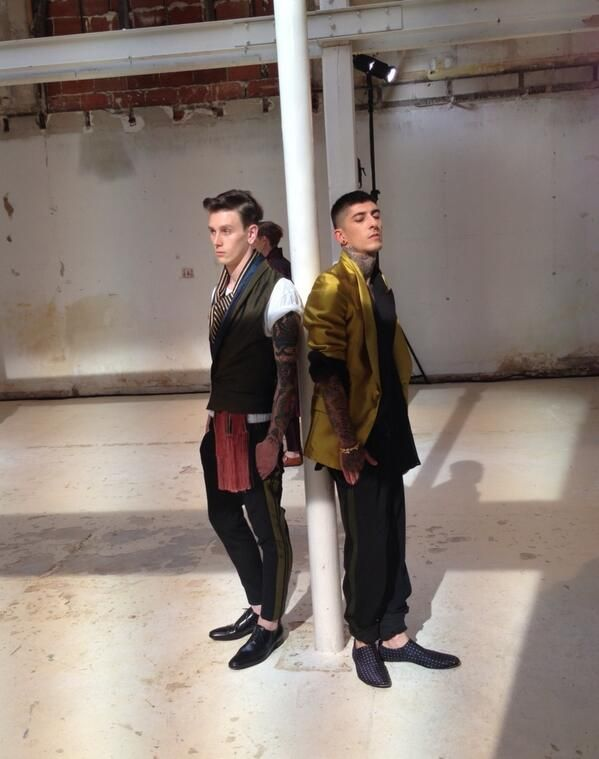 Le style Haider Ackermann version homme #PFW #VogueHommes