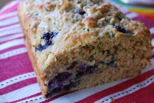 DSC 9702 Lemon Blueberry Zucchini Bread