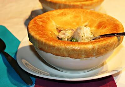 ... Tri-Seafood Pot Pies Recipe (with halibut, shrimp, and scallops