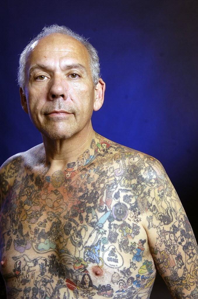 DIsney tattoo guy is my hero!