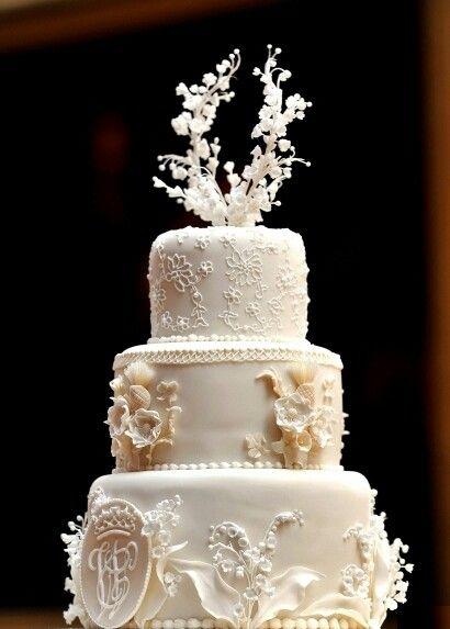 Gâteau de William et Kate  Wedding Inspiration  Pinterest
