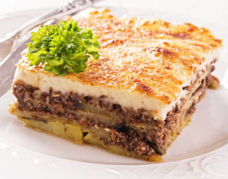 Vegetarian Moussaka | Recipes | Pinterest