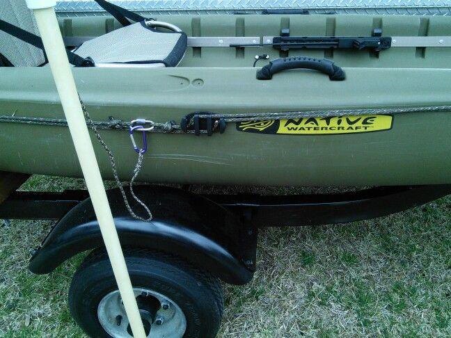 Kayak fishing anchor trolley cleat kayak fishing for Fishing kayak anchor