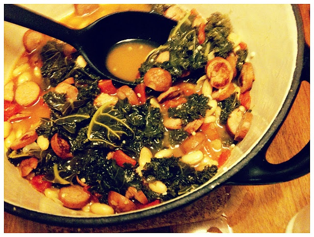 and sausage stew recipe myrecipes com white bean sausage and kale stew ...