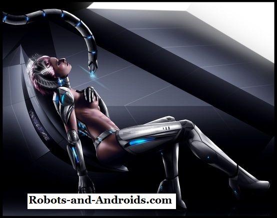Порно девушка робот 5