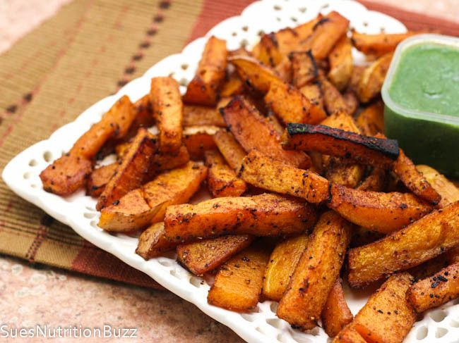 Roasted Chipotle Butternut Squash Fries-7