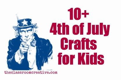 4th of July Crafts for Kids!