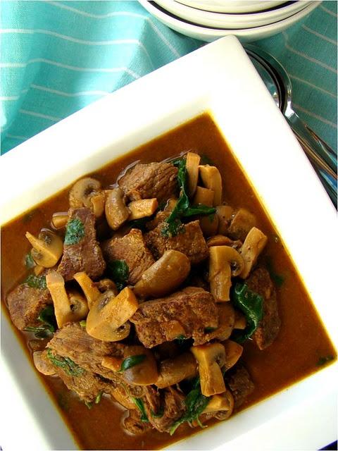 Stewed Beef & Mushrooms | Sometimes I Eat Meat | Pinterest