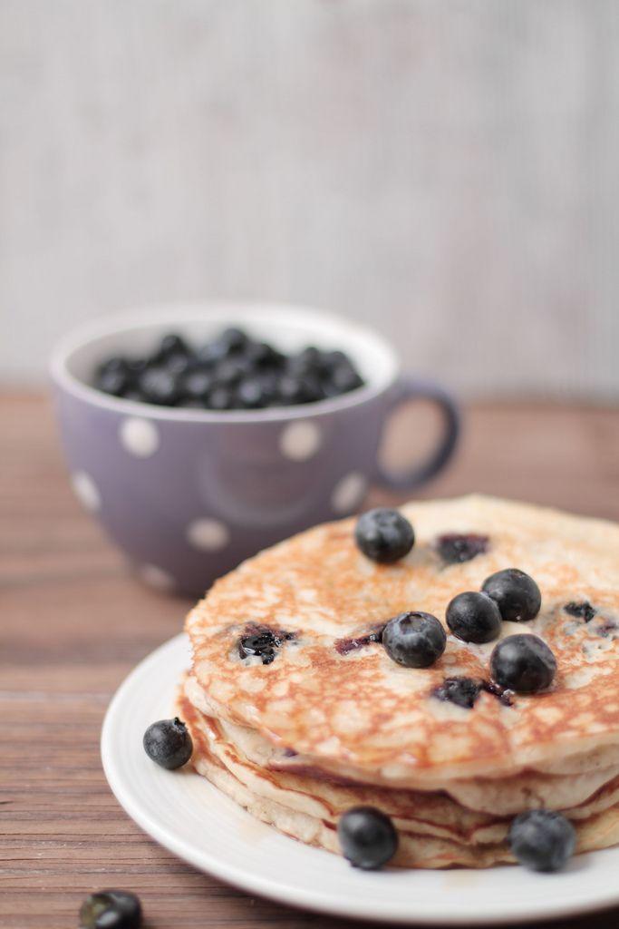 Blueberry Buttermilk Pancakes | BREAKFAST | Pinterest