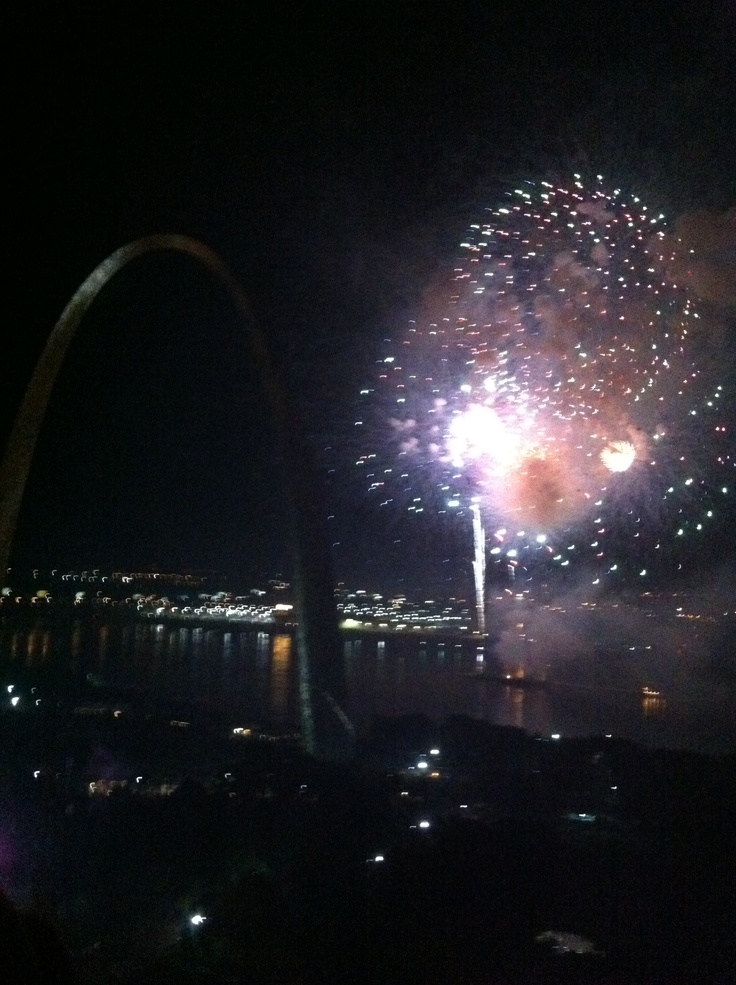 4th of july downtown st louis mo