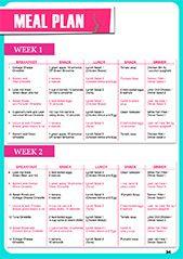 Emily Skye's 30 Day Shred | Meal Plans | Pinterest