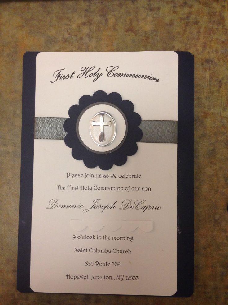 First Holy Communion Invitations as luxury invitations ideas