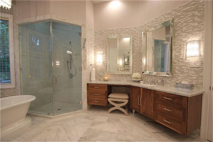 Master Bathroom His And Her Vanities House Home