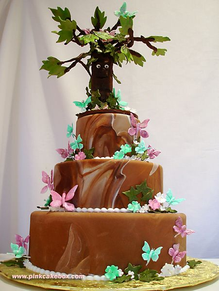 Birthday Cake Ideas Enchanted Forest Theme : Enchanted Forest Cake Cakes Pinterest