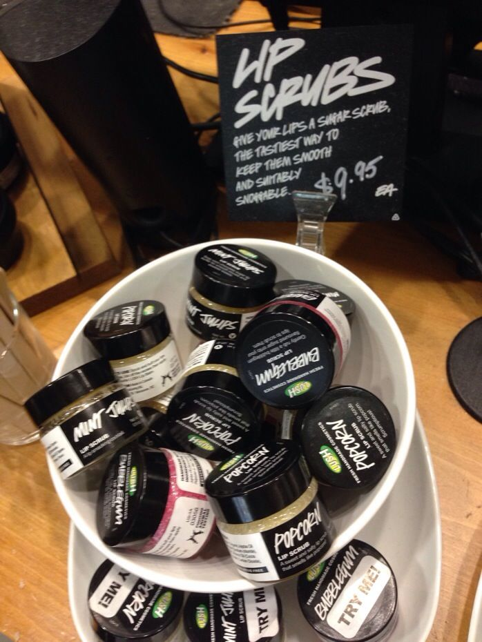 Love the lip scrub from LUSH $9.95 - Mint Juleps my fav! --> TOTALLY love these too! thanks for sharing, @Whitney Wingerd - Mommies with Style