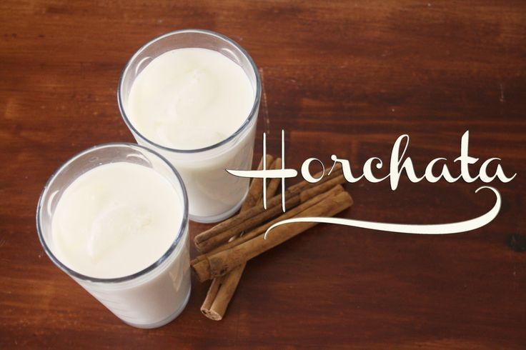Horchata recipe, I flippin love horchata!