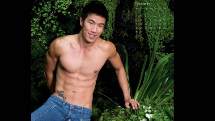 asien male models nude