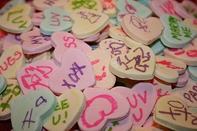 Homemade Conversation Hearts | Great Food Ideas | Pinterest