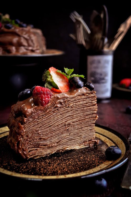 ... dump it cake chocolate beet cake spicy chocolate mousse crepe cake