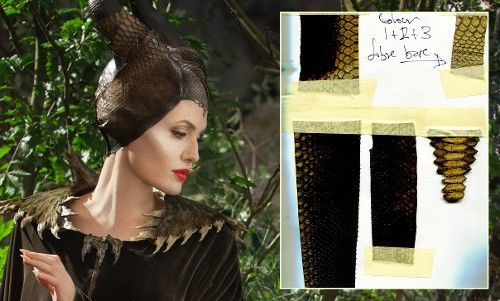 Stingray Skin, Bird Skulls, and Other Secrets Behind the 'Maleficent' Costume