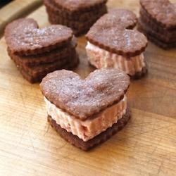 Mocha Shortbread Cookies   Food I love!   Pinterest
