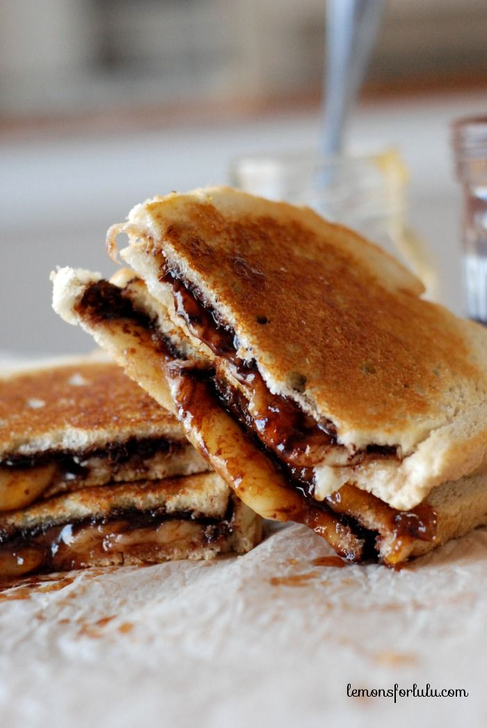 Fontina, Apricot and Chocolate Grilled Cheese | Recipe