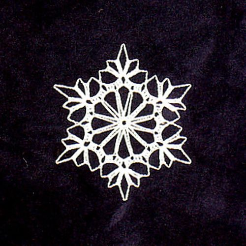 Free Crochet Pattern Snowflakes Ornament : Snowflake - free pattern Crochet - Snowflake Fun Pinterest