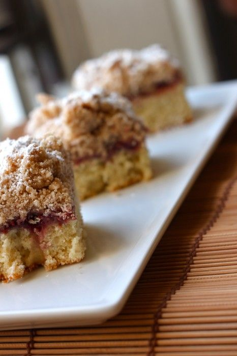 Raspberry Big Crumb Coffee Cake | Recipe