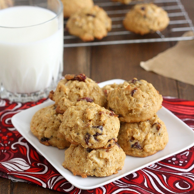 Almond-Cranberry Quinoa Cookies by Tracey's Culinary Adventures, via ...