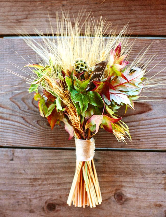 Fall Wedding - wheat