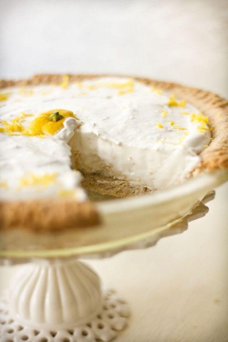 Lemon Ginger Cheesecake | Dessert | Pinterest