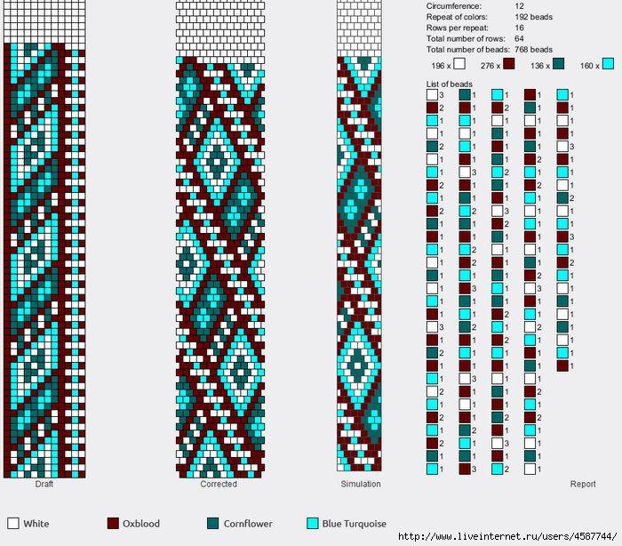 Жгуты из бисера вязание жгутов 913