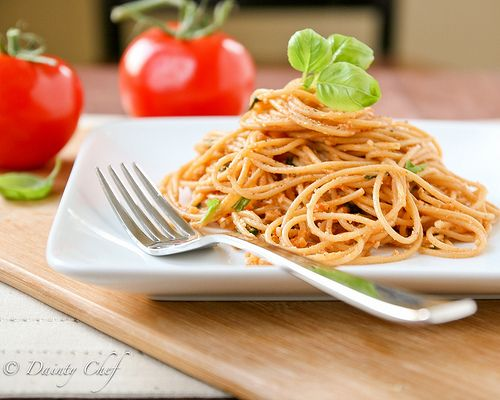 Easy Tomato Basil Cream Pasta Recipes — Dishmaps