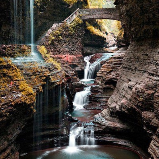 Finger lakes state park new york favorite places for Beautiful places to visit in new york state