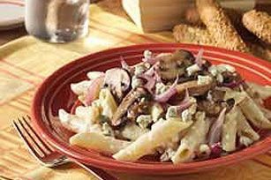 Creamy Gorgonzola Penne and Mushrooms | Penne | Pinterest