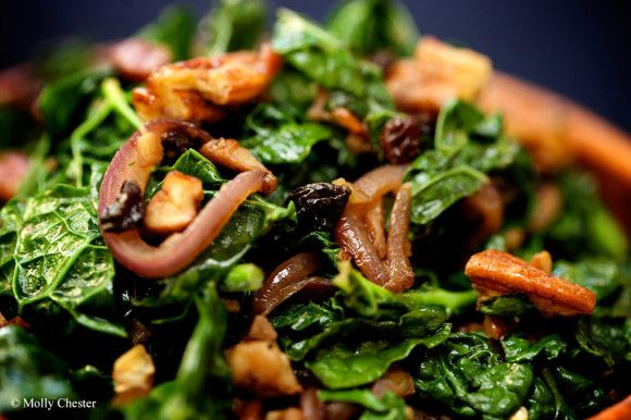 Balsamic Kale with Caramelized Onions | Food and Drink | Pinterest