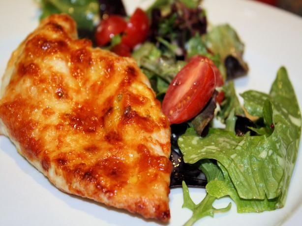 Parmesan-Crusted Chicken With Arugula Salad Recipe - Food.com - 321928