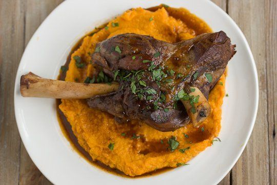 Braised Lamb Shanks & Root Vegetable Puree | Recipe