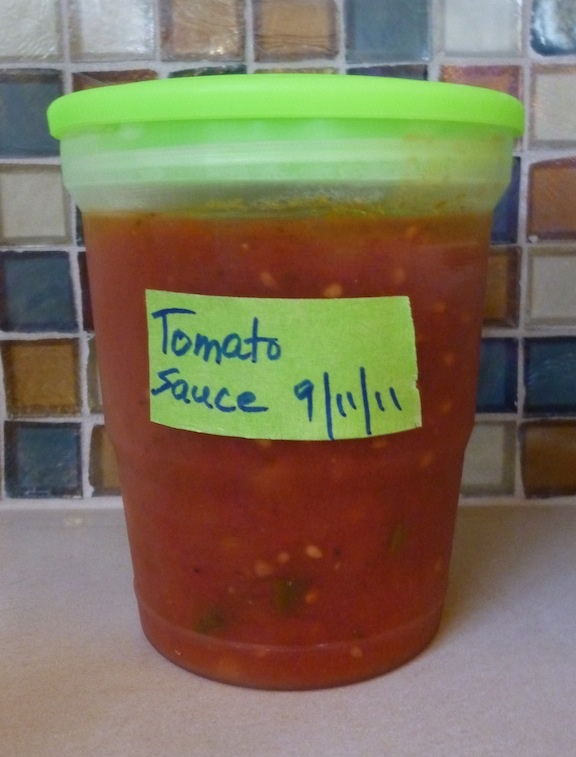Freeze Tomato Sauce | Food to try | Pinterest