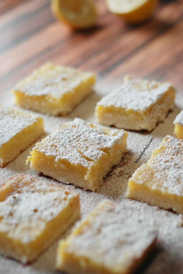 Delicious Honey Ginger Lemon Bars - yum!! { lilluna.com }